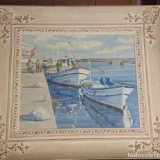 Arte: OLEO SOBRE LIENZO CABO DE PALOS M.FERNANDEZ. Lote 173154985