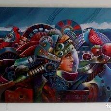 Arte: ,MI MAQUINA DE SUEÑOS, JHON JAIMER MORALES. Lote 173164742
