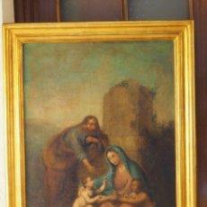Arte: SAGRADA FAMILIA CON SAN JUANITO. Lote 173327740