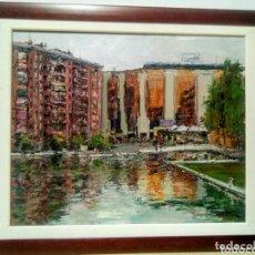 Arte: PARC CATALUNYA DE SABADELL. FIRMADO FARRIOL.. Lote 173360552