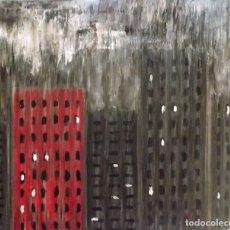 Arte: LLUVIA TÓXICA. OLEO SOBRE LIENZO 65 X 54. Lote 173384514