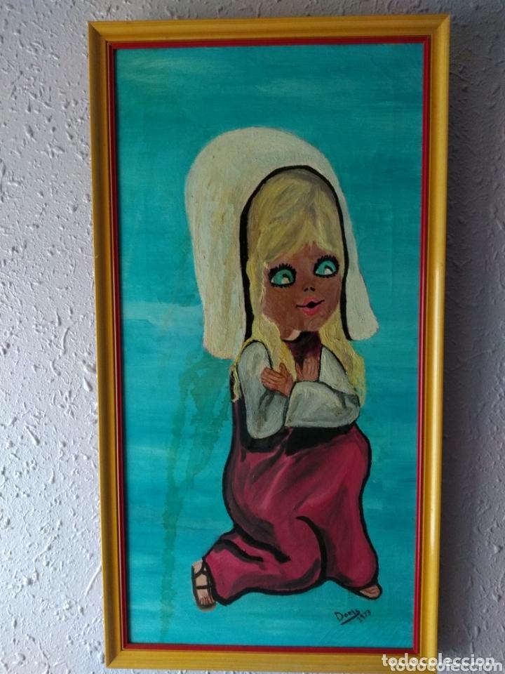 CUADRO OLEO ( FIRMADO DORIS EN 1973 ). VER FOTOGRAFÍAS. MÁS EN MÍ PERFIL. (Arte - Pintura - Pintura al Óleo Contemporánea )