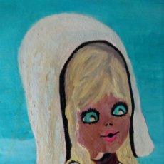 Arte: ANTIGUO CUADRO GRAN ARTISTA DORIS REALIZADA EN 1973. Lote 173396330