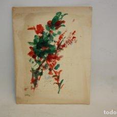 Arte: M. JULÌA - FELICITACION DE NAVIDAD - 1966 - PINTURA.. Lote 173412740