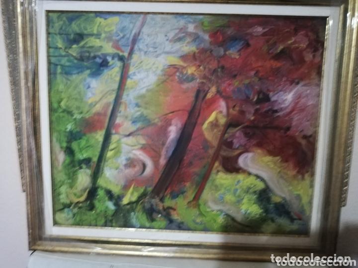 Arte: Oleo del pintor canario Nestor Santana.. Pintor muy reconocido a nivel nacional e internacional - Foto 2 - 173484317