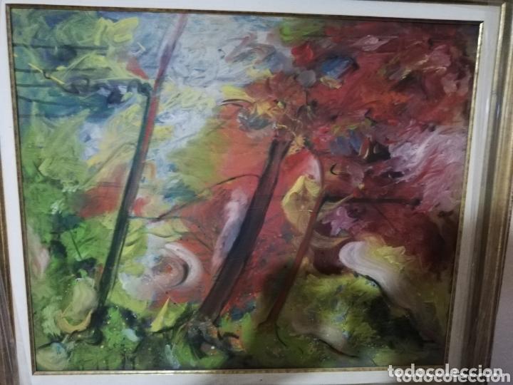 OLEO DEL PINTOR CANARIO NESTOR SANTANA.. PINTOR MUY RECONOCIDO A NIVEL NACIONAL E INTERNACIONAL (Arte - Pintura - Pintura al Óleo Contemporánea )
