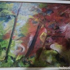 Arte: OLEO DEL PINTOR CANARIO NESTOR SANTANA.. PINTOR MUY RECONOCIDO A NIVEL NACIONAL E INTERNACIONAL. Lote 173484317