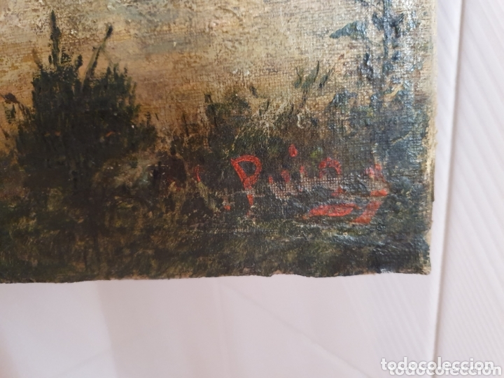 Arte: OLEO SOBRE LIENZO COSTUMBRISTA LAS TRES MUJERES S.XVIII-XIX ESTA FIRMADO - Foto 7 - 161612765