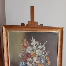 Arte: OLEO BODEGON FLORAL 71X90 / OLEO BODEGON. Lote 173536164