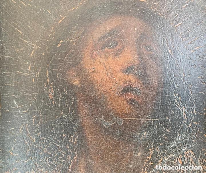 Arte: Boceto religioso del siglo XVIII (?) - Foto 7 - 136810430