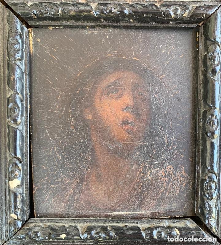 Arte: Boceto religioso del siglo XVIII (?) - Foto 8 - 136810430