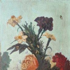 Arte: ESCUELA CATALANA (XIX) - NATURALEZA MUERTA.ANONIMO.OLEO/TABLA.. Lote 173611353