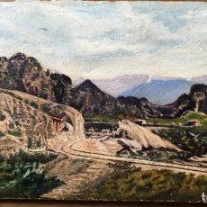 Arte: FIRMADO SISLEY. PINTOR FRANCÉS. OLEO SOBRE TABLA. Lote 173643217