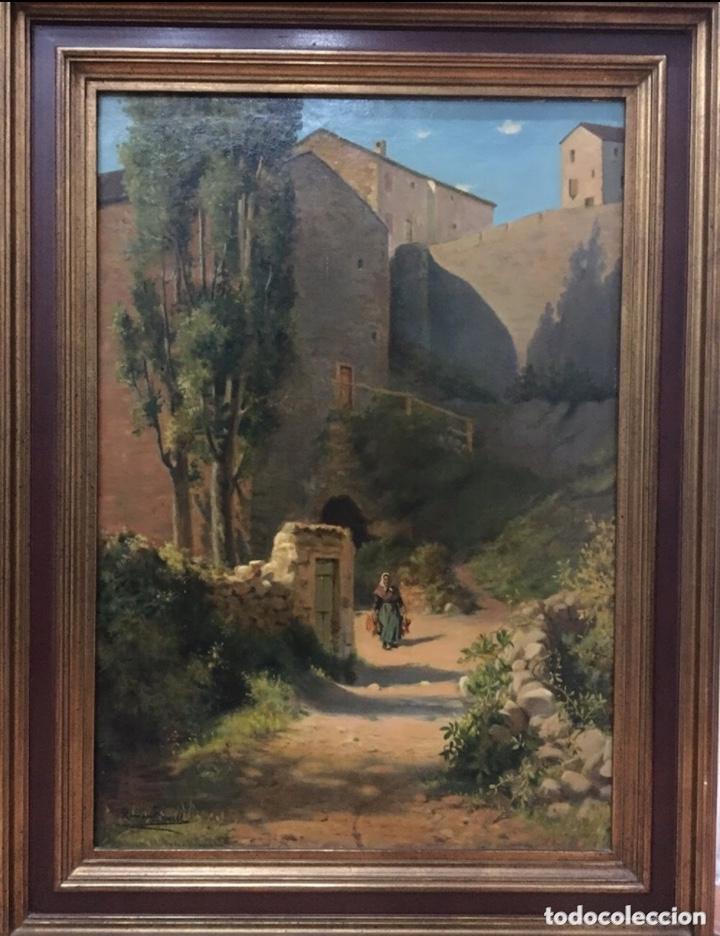 RAMÓN BORRELL I PLA (Arte - Pintura - Pintura al Óleo Antigua sin fecha definida)