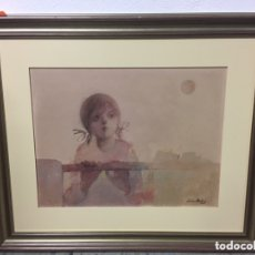 Arte: PINTURA AL ÓLEO FIRMADA POR MARTÍNEZ MONTIEL. Lote 173733235