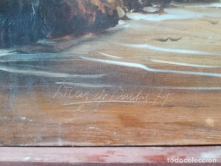Arte: Marina, firmado por Diaz de Bache - Foto 2 - 173757780