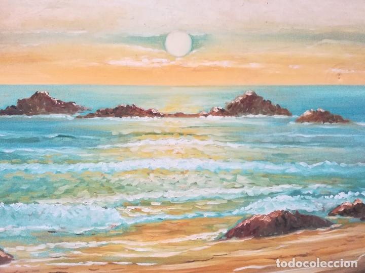 Arte: Marina, firmado por Diaz de Bache - Foto 3 - 173757780