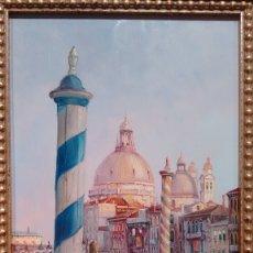 Arte: CUADRO ÓLEO COBRE VENECIANO 2 FRANCISCO SANCHIS. Lote 173879130