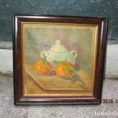 Arte: ANTIGUA PINTURA ALICANTINA AL OLEO ORIGINAL DE MELCHOR ARACIL GALLEGO 1906 -.1966 ALICANTE. Lote 173901623