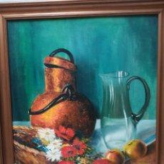 Arte: CANASTA CON FLORES . Lote 173905997