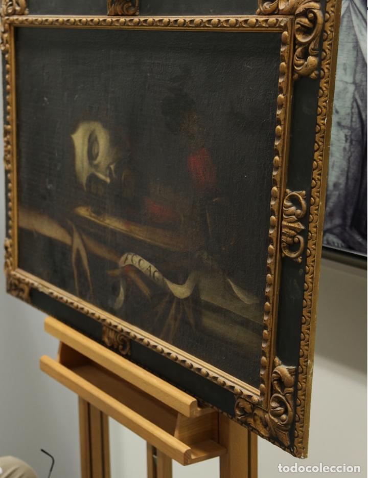 Arte: Cabeza cercenada de Juan el Bautista (Barroco Tenebrista escuela sevillana siglo XVII) - Foto 5 - 174023452