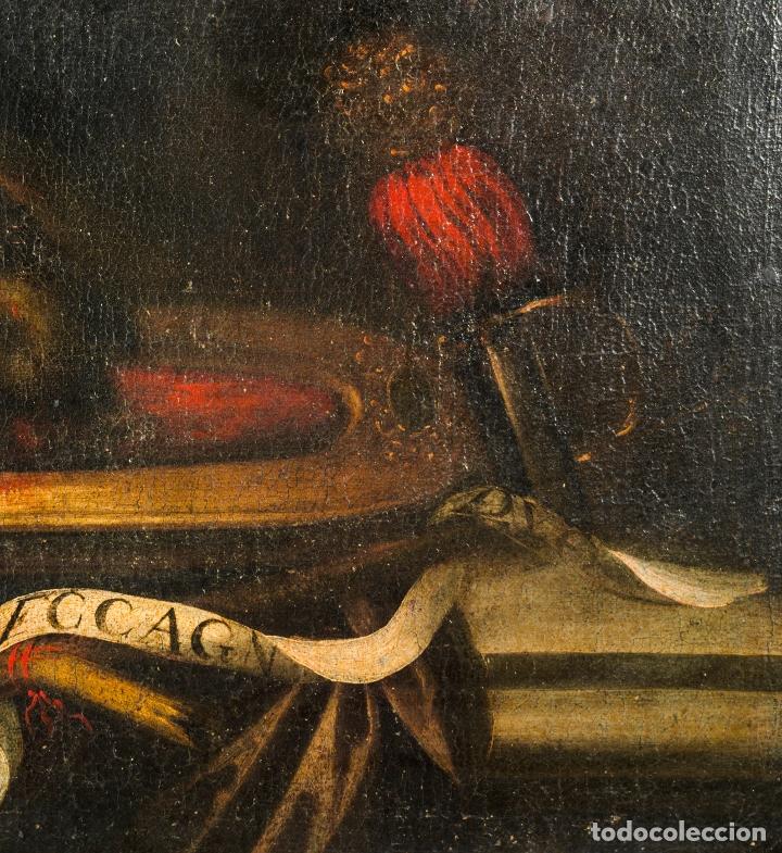 Arte: Cabeza cercenada de Juan el Bautista (Barroco Tenebrista escuela sevillana siglo XVII) - Foto 8 - 174023452