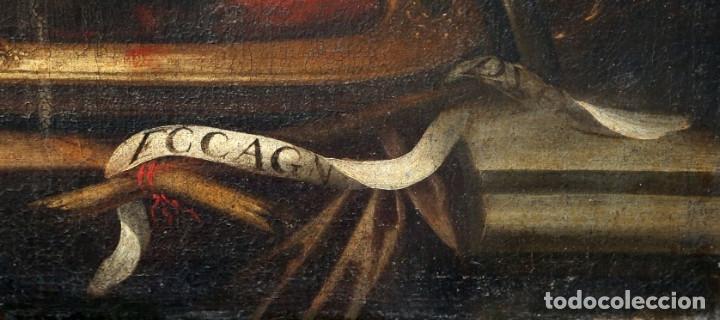 Arte: Cabeza cercenada de Juan el Bautista (Barroco Tenebrista escuela sevillana siglo XVII) - Foto 9 - 174023452