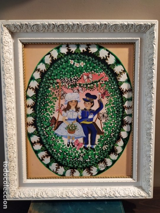 CUADRO INFANTIL - FIRMA MARIA S S (Arte - Pintura - Pintura al Óleo Contemporánea )