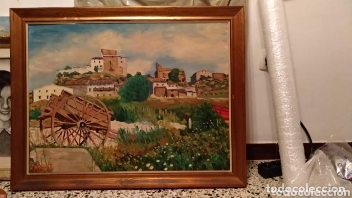 ÓLEO ENMARCADO (Arte - Pintura - Pintura al Óleo Antigua sin fecha definida)