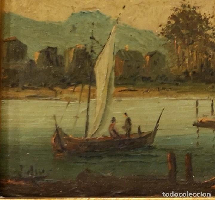 Arte: Óleo Lago - Foto 3 - 174126763