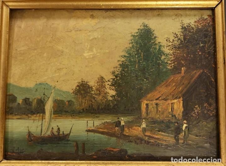 Arte: Óleo Lago - Foto 4 - 174126763