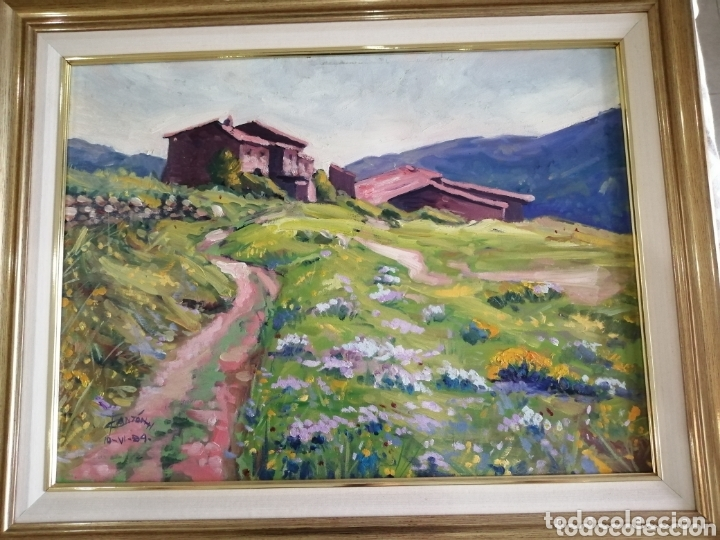 Arte: Lote cuadros paisajes rurales - Foto 3 - 174152619