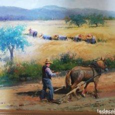 Arte: OLEO DE MUCHA CALIDAD.. 50 POR 60 CM.. SOLO LA OBRA.. 80 POR 70 CON MARCÓ.. FIRMADO AUTOR ALEMAN. Lote 174157817