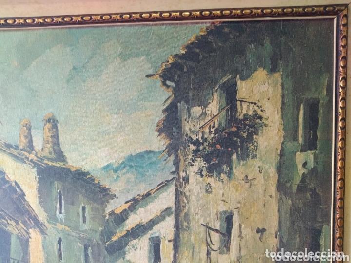 Arte: CUADRO ( FIRMADO J. CORTÉS ) INVERSIÓN. VER FOTOGRAFÍAS. MÁS CUADROS EN MÍ PERFIL - Foto 3 - 174166412