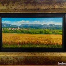 Arte: OLEO SOBRE TABLA ENMARCADO FRANCESC VIDAL. Lote 174170339