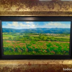 Arte: OLEO SOBRE TABLA ENMARCADO FRANCESC VIDAL. Lote 174170548