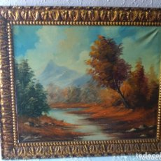 Arte: ÓLEO EN LIENZO ( BUSCADO, FIRMADO POR BLANCA ), VER FOTOGRAFÍAS. MÁS CUADROS EN MÍ PERFIL. Lote 174172748