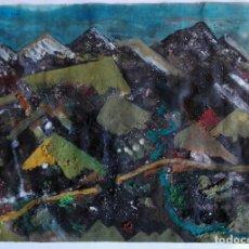 Arte: ANTONI MARTÍ (SEUDÓNIMO, CASSERRES 1.960) - PINTURA 40 X 28 CERTIFICADO. Lote 128136651