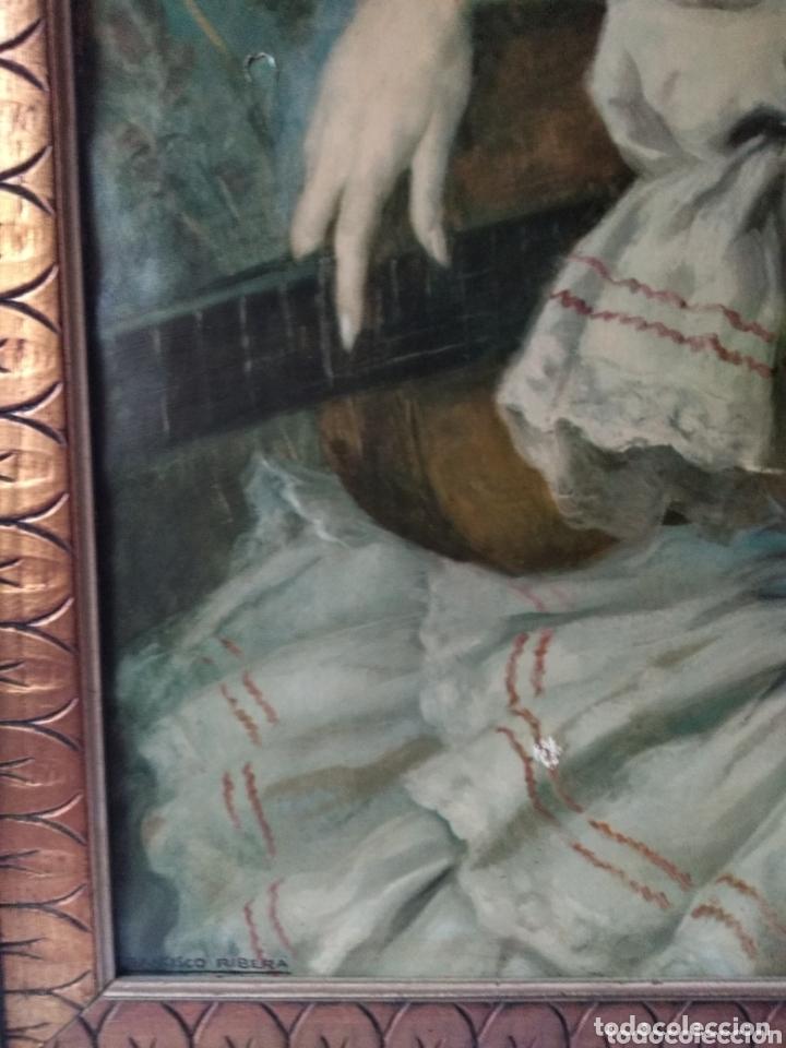 Arte: ÓLEO EN LIENZO ( FIRMADO FRANCISCO RIVERA ) FIRMADO . VER FOTOGRAFÍAS, MÁS CUADROS EN MÍ PERFIL. - Foto 6 - 174183542