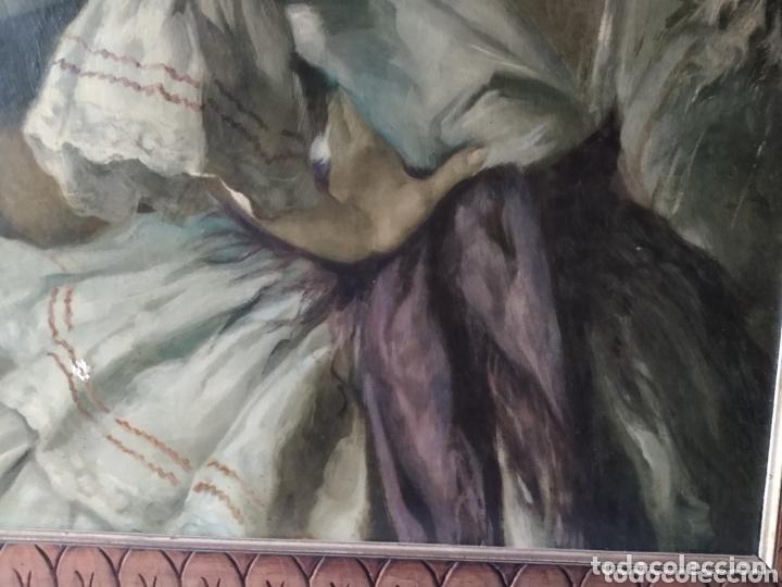 Arte: ÓLEO EN LIENZO ( FIRMADO FRANCISCO RIVERA ) FIRMADO . VER FOTOGRAFÍAS, MÁS CUADROS EN MÍ PERFIL. - Foto 14 - 174183542