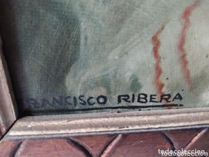 Arte: ÓLEO EN LIENZO ( FIRMADO FRANCISCO RIVERA ) FIRMADO . VER FOTOGRAFÍAS, MÁS CUADROS EN MÍ PERFIL. - Foto 30 - 174183542
