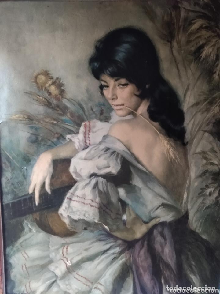 ÓLEO EN LIENZO ( FIRMADO FRANCISCO RIVERA ) FIRMADO . VER FOTOGRAFÍAS, MÁS CUADROS EN MÍ PERFIL. (Arte - Pintura - Pintura al Óleo Moderna sin fecha definida)