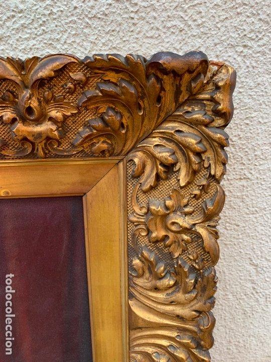 Arte: Excepcional oleo antiguo, de Julio Borrell, en gran formato y precioso marco. Leer mas - Foto 15 - 174305783
