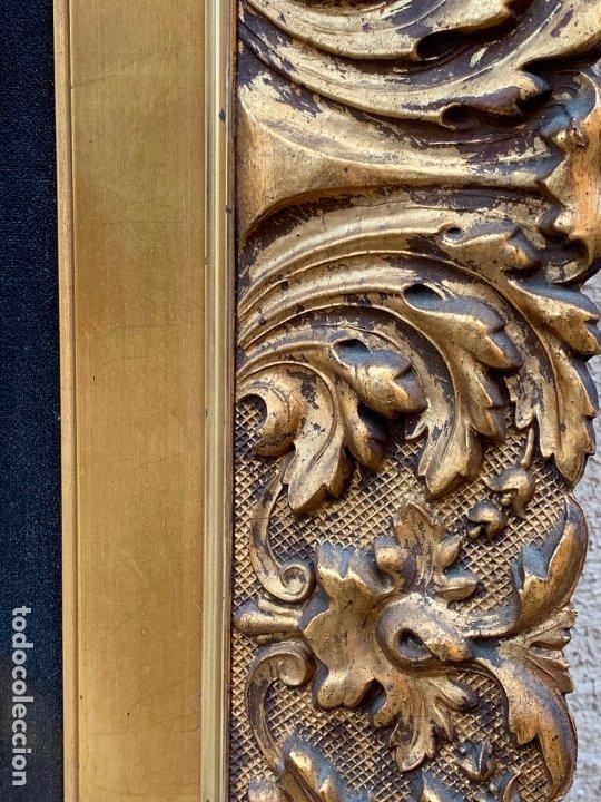 Arte: Excepcional oleo antiguo, de Julio Borrell, en gran formato y precioso marco. Leer mas - Foto 17 - 174305783