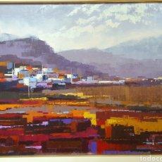 Arte: ÓLEO IMPRESIONISTA FIRMADO VIÑAS. Lote 174387999