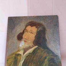 Arte: OLEO SOBRE PANEL FIRMADO ALBOR AÑO 1974. Lote 160296452