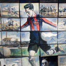 Arte: AMADOR GARRELL SOTO (GRANOLLERS, 1916 - 2000) OLEO SOBRE LIENZO. HOMENATGE A PAULINO ALCANTARA. Lote 174578080