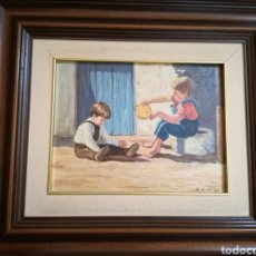 Arte: ÓLEO SOBRE LIENZO DE RAMOS RODRIGO, JOSÉ LUÍS. Lote 174625648