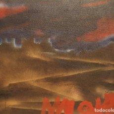 Arte: CUADRO VINTAGE ABSTRACTO - ÓLEO SOBRE LIENZO. Lote 174715730