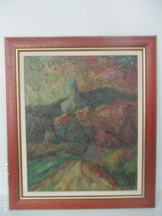 Arte: Pintura al Óleo sobre Tela - Paisaje - Firma Manuel Solá - Foto 4 - 174860713